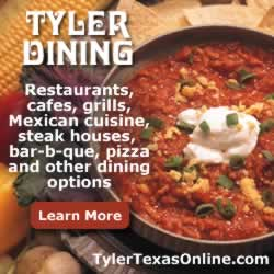 Tyler restaurants and dining options ... click to learn more